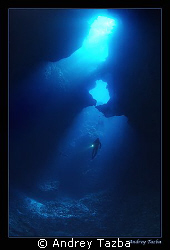 BLUE HOLES by Andrey Tazba 
